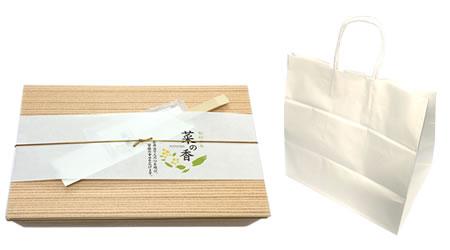 夢の膳、北海の恵御膳、四季膳、外箱と紙袋