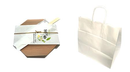 ひなた、外箱と紙袋