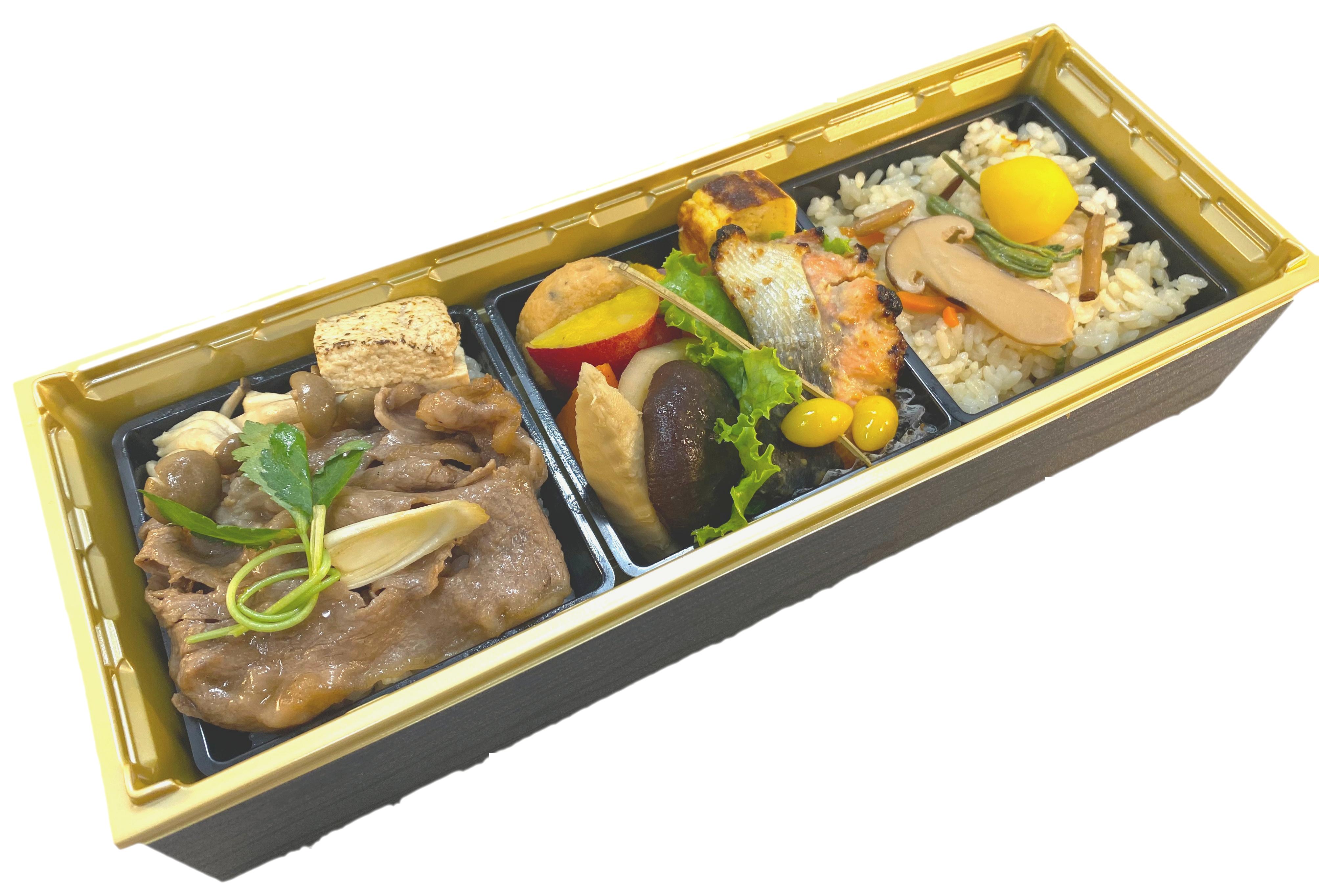 黒毛和牛すき焼き松茸ご飯御膳